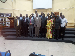 Dr Mathew Opoku Prempeh and the National Council for Tertiary Education