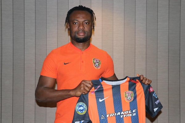 Gideon Baah elated after move to Kazakhstani side Shakhtar Soligorsk FC