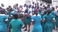 Nurses and midwives around the country have embarked on strike
