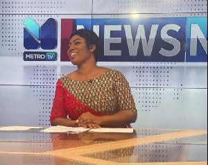 Broadcast journalist, Bridget Otoo
