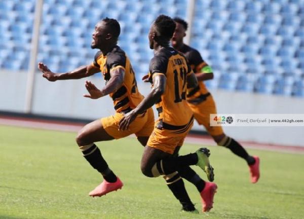 Eric Esso scored a free kick in Ashantigold's 4-1 win over Berekum Chelsea in the MTN FA Cup