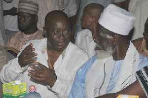 Akufo-Addo promised to develop the Zongo community in his tenure of Presidency