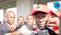 Akunnor's interaction with the media was cut shot  by an official of Kotoko