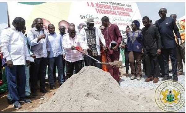 New senior high technical school named after Kufuor