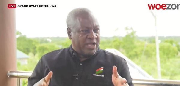 Hold Akufo-Addo to account on December 7 – Mahama to Ghanaians