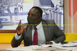 Dr. Aggrey Darko, Director Parliamentary Affairs
