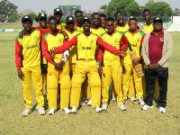 File photo - Ghana's Cricket Team