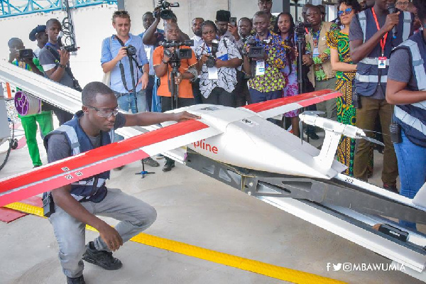 Northern sector medical drone facility to be ready in January - Bawumia