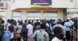 DKM Bolgatanga Customers Threaten