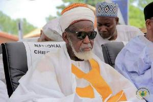 National Chief Imam, Sheikh Osmanu Nuhu Sharubutu
