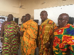 Some newly elected executives of the Volta Regional House of Chiefs