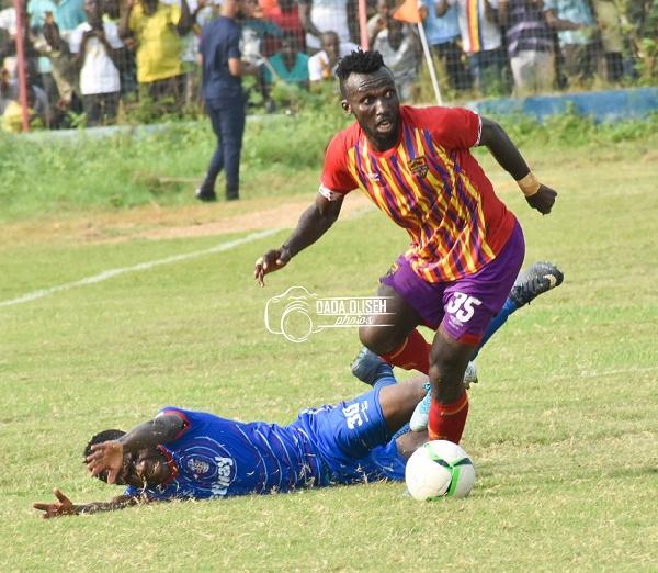 Hearts of Oak\'s Emmanuel Nettey set to return to action against Berekum Chelsea