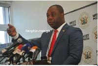 Education Minister, Dr Mathew Opoku Prempeh,