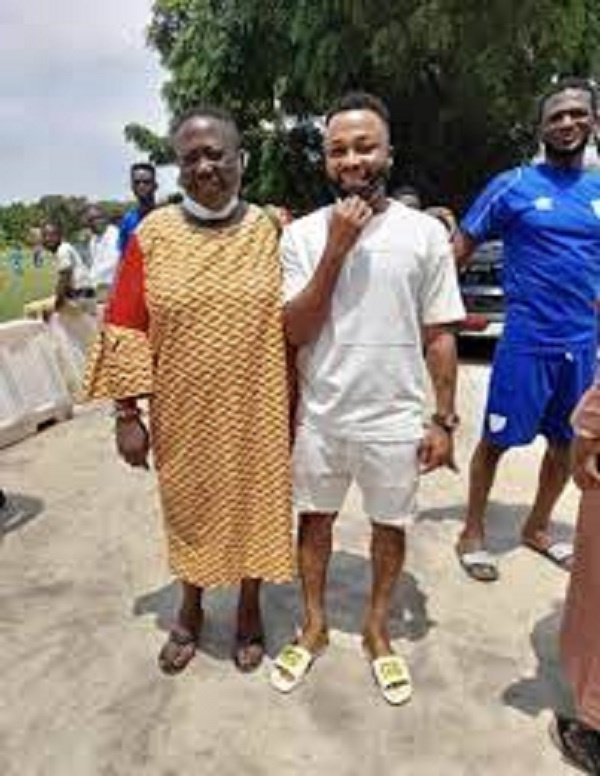 Embattled Awako's return to Hearts of Oak draws closer after visit to training ground