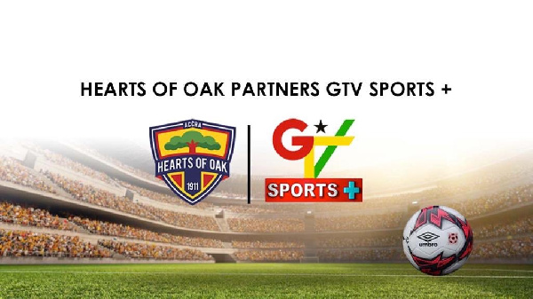 Hearts of Oak seal partnership deal with GTV Sports Plus