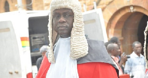 Justice Anin Yeboah is likely to succeed Justice Sophia Abena Boafoa Akuffo, who retires in December