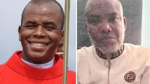 Nigeria priest Father Mbaka tok about arrest of Ipob leader, Nnamdi Kanu