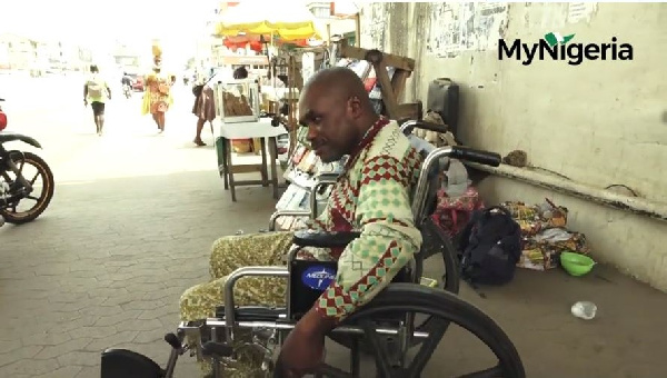 How this Nigerian trader was left paralyzed for 22-years in Ghana due to medical negligence