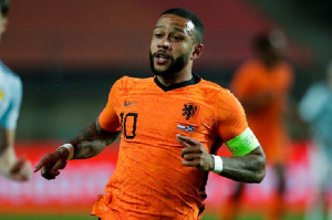 Memphis Depay will represent the Netherlands in the Euros