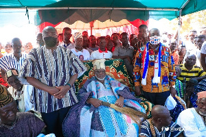 Vice President Bawumia is in the Northern Region for a three-day tour