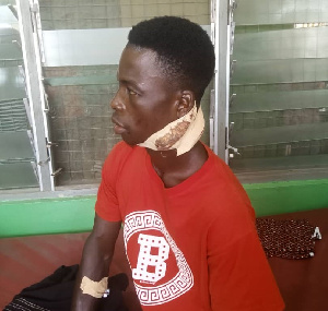Mary Quaye inflicted multiple machete wounds on her husband's neck