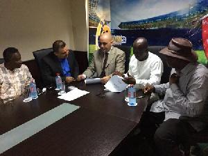 Al-Wahda sign partnership agreement with Ghana