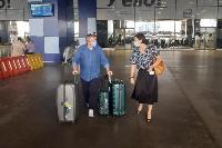 Some passengers who disembarked took the compulsory coronavirus test
