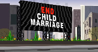 'End child marriage', one of the rights of the NGO is fighting for the girl child