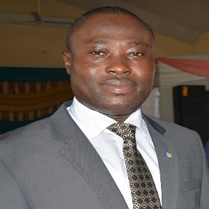 Emmanuel Menka Agyekum, District Minister, the Church of Pentecost, Bodomase