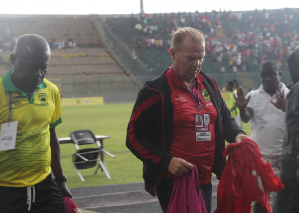 Zachariassen was appointed the head coach of Asante Kotoko on a two-year deal