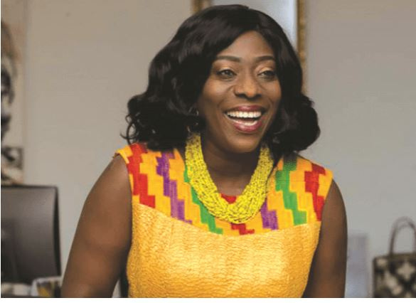Catherine Afeku was moved to the Office of the President as a Minister of State