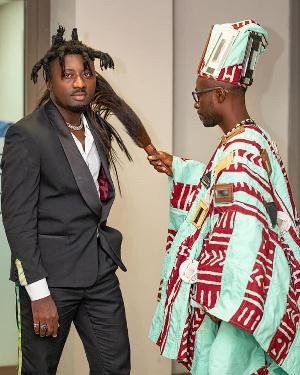 Amerado Burner and Okyeame Kwame