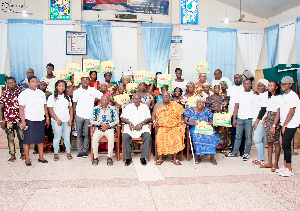 Emmnarg Groupe Foundation puts smiles on faces of widows, the aged