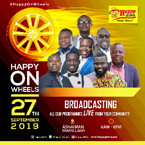 A flyer of the event to be held at Ashaiman