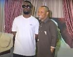 Fadda Dickson welcomes Sarkodie to Peace FM