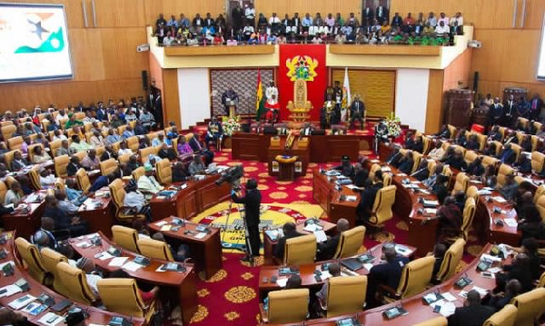 Parliament requested to approve GHC27.434 billion for 2021 first quarter