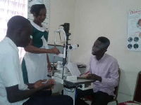 Chief of the Oyoko Traditional Area is advocating for more eye caregivers for his citizens