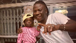 Stonebwoy's daughter joins 'putuu' craze, sings a freestyle of her father's gibberish song