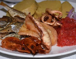 File photo: Fish with kenkey