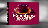 3D cover of the book, Kenkey for Ewes