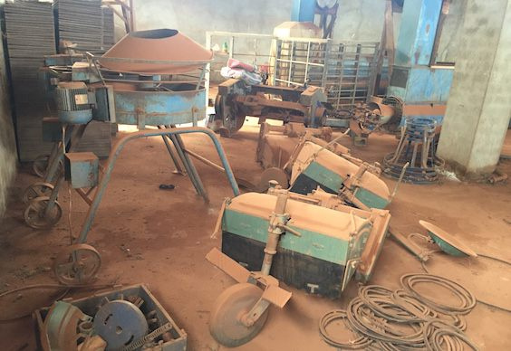 Some of the machines are still operational according to caretakers