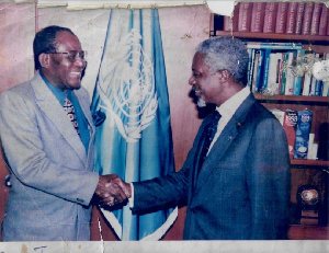 Samuel Tay Visits Kofi Annan