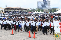 About 10,000 of them were from the list of unplaced trainees