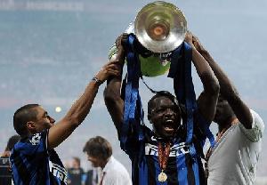 Muntari Inter Uefa