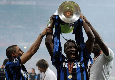 Sulley won the Champions League with Inter