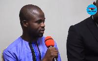 Investigative journalist Manasseh Azure Awuni