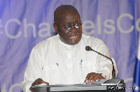 Nana Akufo-Addo, presidential candidate of the New Patriotic Party