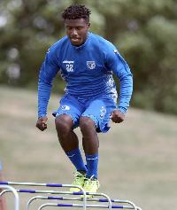 Ghanaian midfielder, Manfred Osei-Kwadwo