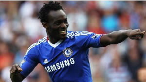 Essien played for Chelsea between 2005 and 2014