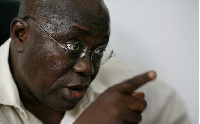 File photo; President Akufo-Addo was accused of being a 'wee' smoker
